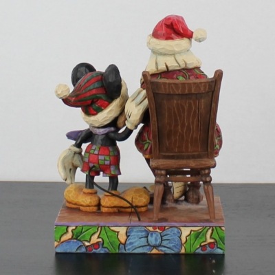 Mickey Mouse ''Checking It Twice'' by Jim Shore of the Traditions line from Enesco