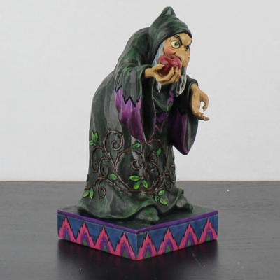 Witch ''Take A Bite'' by Jim Shore of the Traditions line from Enesco in license of Walt Disney