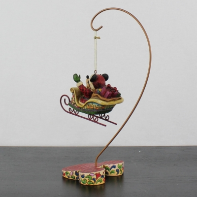 Mickey Mouse ornament with stand by Jim Shore of the Traditions line from Enesco