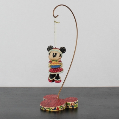 Minnie Mouse ornament with stand by Jim Shore of the Traditions line from Enesco
