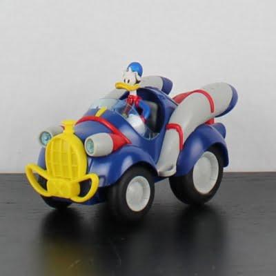 Superdonald model car by Bburago in license of Walt Disney
