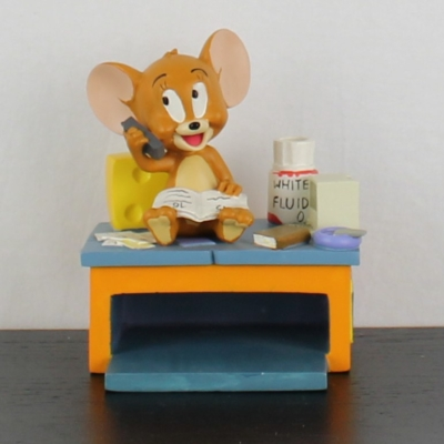 Vintage Jerry paper tray by Avenue of the Stars in license of Warner Bros