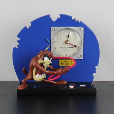 Tasmanian Devil clock by Avenue of the Stars of Tropico Diffusion
