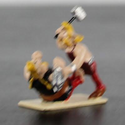 Cetautomatix and Ordralfabetix miniature by Pixi