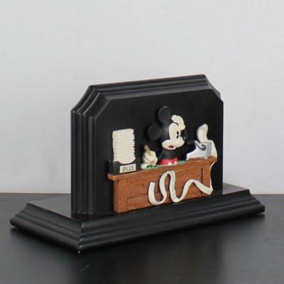 Vintage Mickey Mouse letter holder by Figi Graphics
