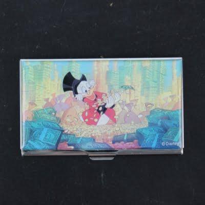 Vintage Scrooge McDuck business card by ACME Studio