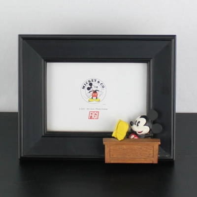 Vintage Mickey Mouse picture frame by Figi Graphics