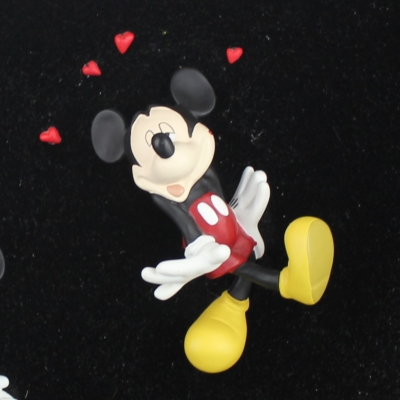 Mickey Mouse and Minnie Mouse ''What A Kiss'' by Jie Art