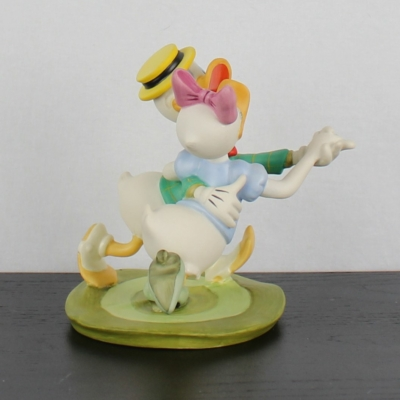 """Daisy &Donald Duck """"Oh Boy, What a Jitterbug!"""" of Mr. Duck steps out by the Walt Disney Classic Collection"""