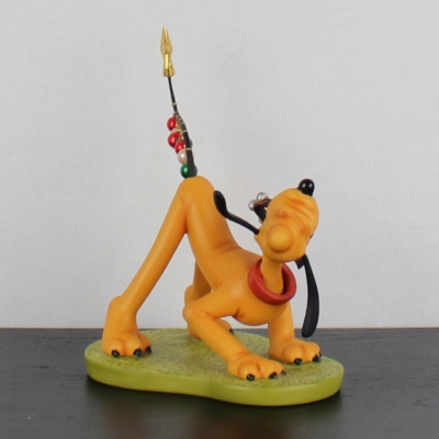 """""""Pluto Helps Decorate"""" of Pluto's Christmas Tree from the Walt Disney Classic Collection"""