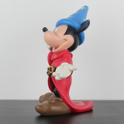 Vintage Mickey Mouse as the sorcerer's apprentice statue