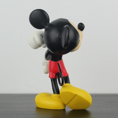 Happy Mickey Mouse statue by Peter Mook for Walt Disney