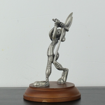 Bugs Bunny playing golf Pewter statue by Warner Bros
