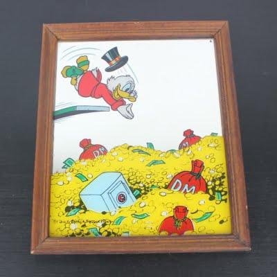 Vintage Scrooge McDuck mirror