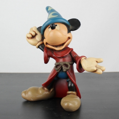 Mickey Mouse as the sorcerer's apprentice by Stefan Toth for Walt Disney